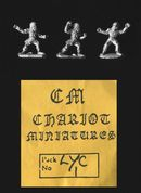 Chariot Miniatures 15mm Fantasy LYC 1 Were Wolves (x 3 figs)